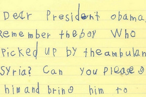Alex's letter (The White House)
