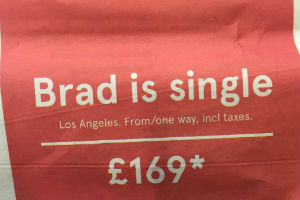 Brangelina ad (Norwegian Air)