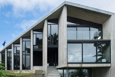 The concretologist's creation in Grand Designs NZ S02E01