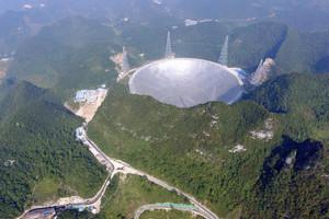 China turns its eye towards the sky