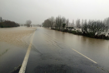Flooding in Coromandel (Darryn Inder / Newshub.)