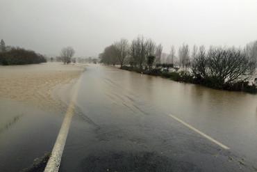 Flooding in Coromandel (Darryn Inder / Newshub.)