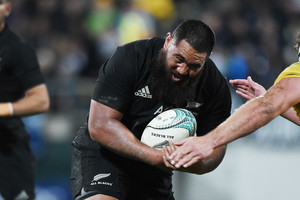 Video: All Blacks beefing up for Argentinian scrum ahead of Test