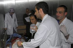 Only 30 doctors treating in Syria's eastern Aleppo
