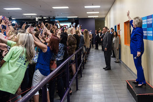 Selfies and the Clinton campaign through the years