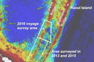 The voyage plans to produce the first comprehensive, high-definition seafloor map