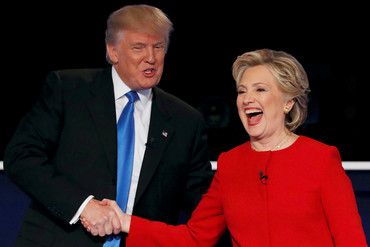 Donald Trump and Hillary Clinton (Reuters)