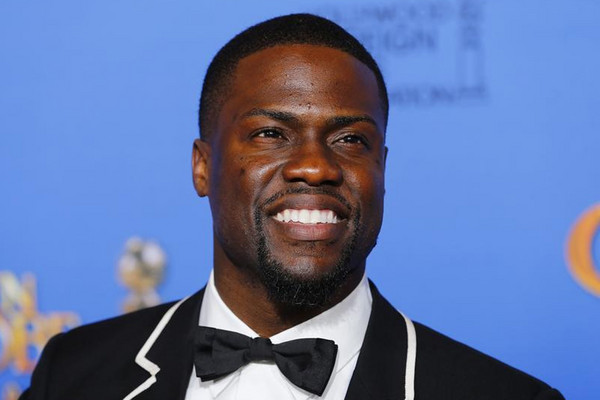 Kevin Hart earned a whopping US$87.5 million in the last year, thanks largely to his busy touring schedule (AAP)