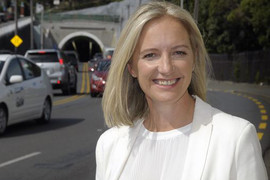 Wellington mayoral candidate Jo Coughlan (Supplied)