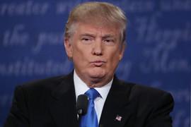 Trump is heard remarking on the attractiveness of rapist teacher Debra Lafave in the recording (AAP)