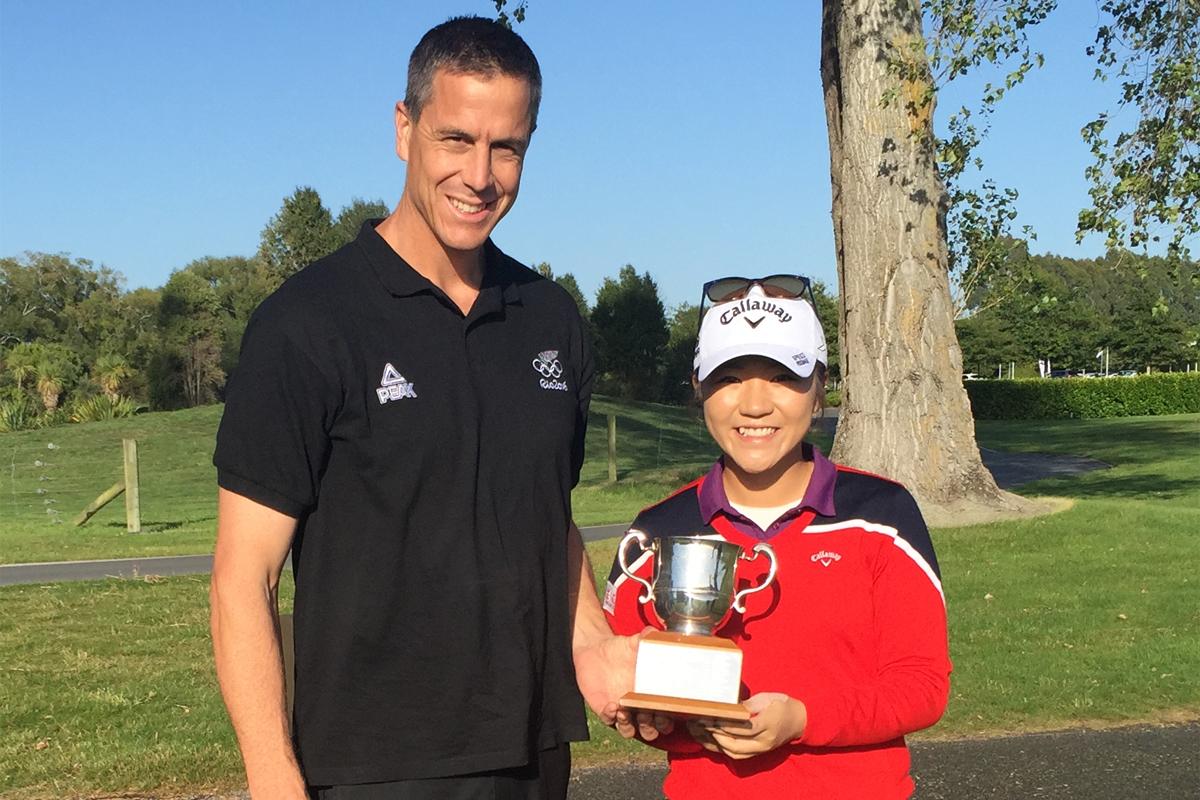 Ranked Lydia Ko wins New Zealand Women's Open