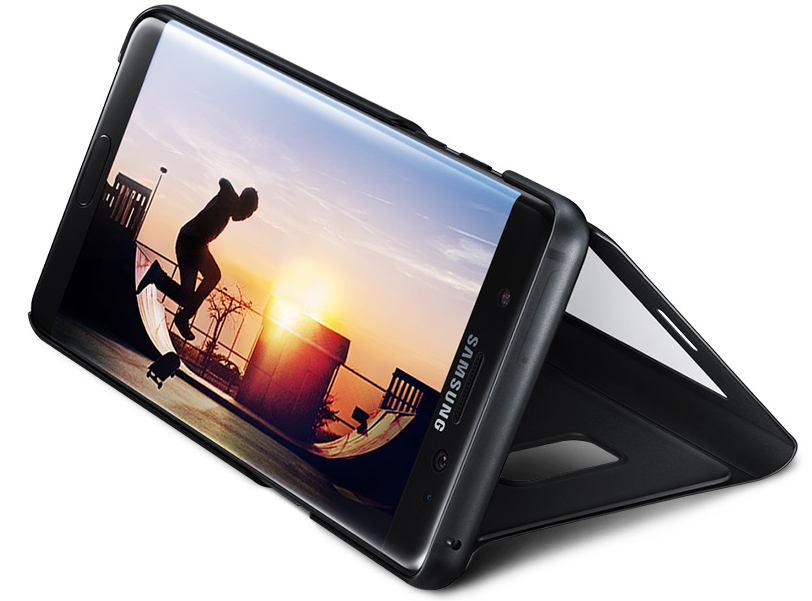 New phablet is launched; has iris scanner, curved display