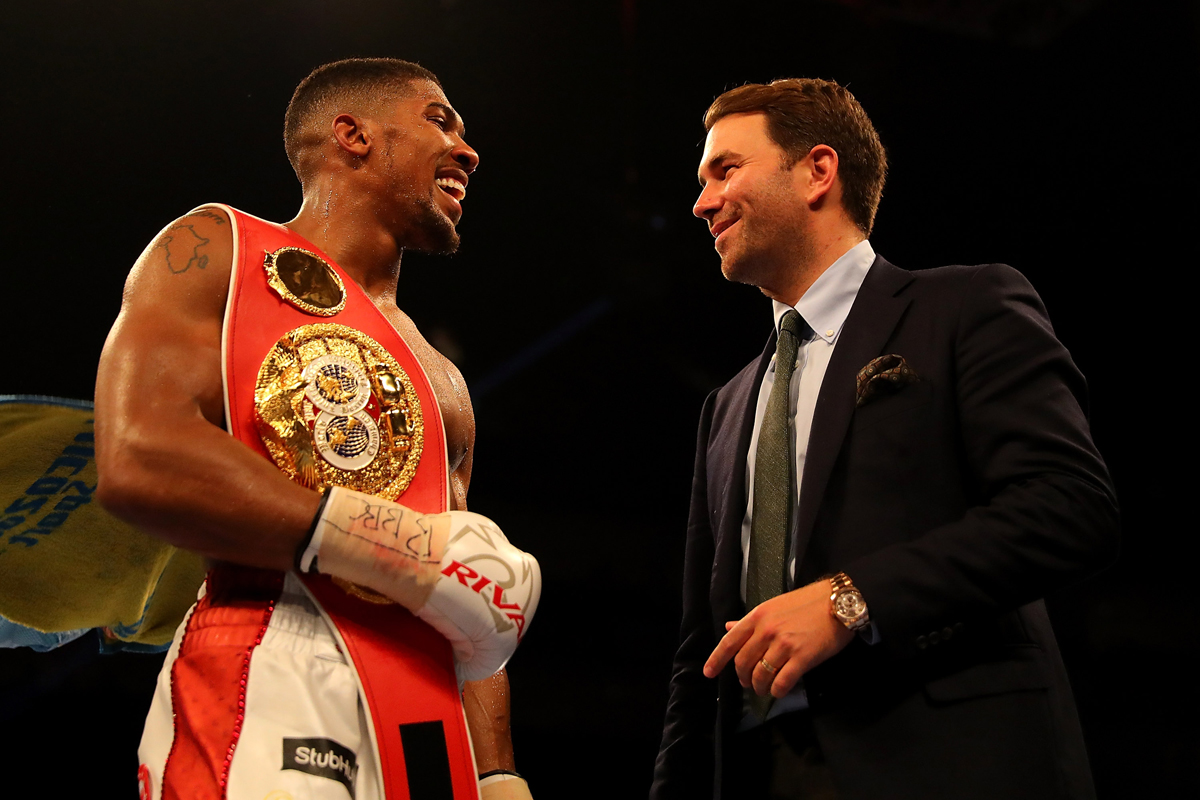 Anthony Joshua Joseph Parker Fight In Play For Nov 26th